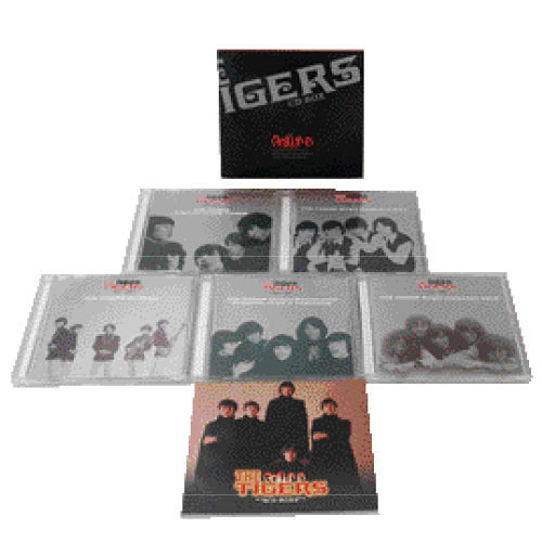 THE TIGERS CD-BOX 全5枚組